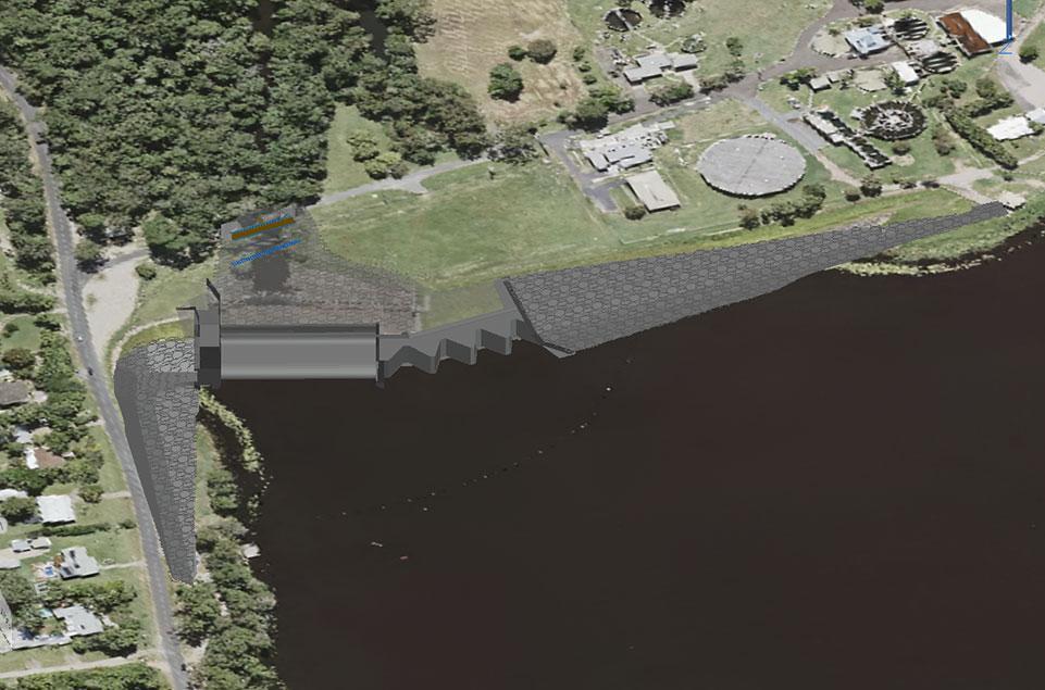 Lake Macdonald Dam Upgrade update